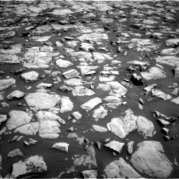 Nasa's Mars rover Curiosity acquired this image using its Left Navigation Camera on Sol 1828, at drive 594, site number 66