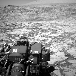 Nasa's Mars rover Curiosity acquired this image using its Left Navigation Camera on Sol 1828, at drive 612, site number 66
