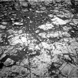 Nasa's Mars rover Curiosity acquired this image using its Left Navigation Camera on Sol 1828, at drive 678, site number 66