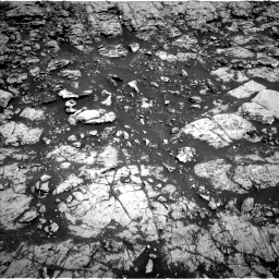 Nasa's Mars rover Curiosity acquired this image using its Left Navigation Camera on Sol 1828, at drive 684, site number 66