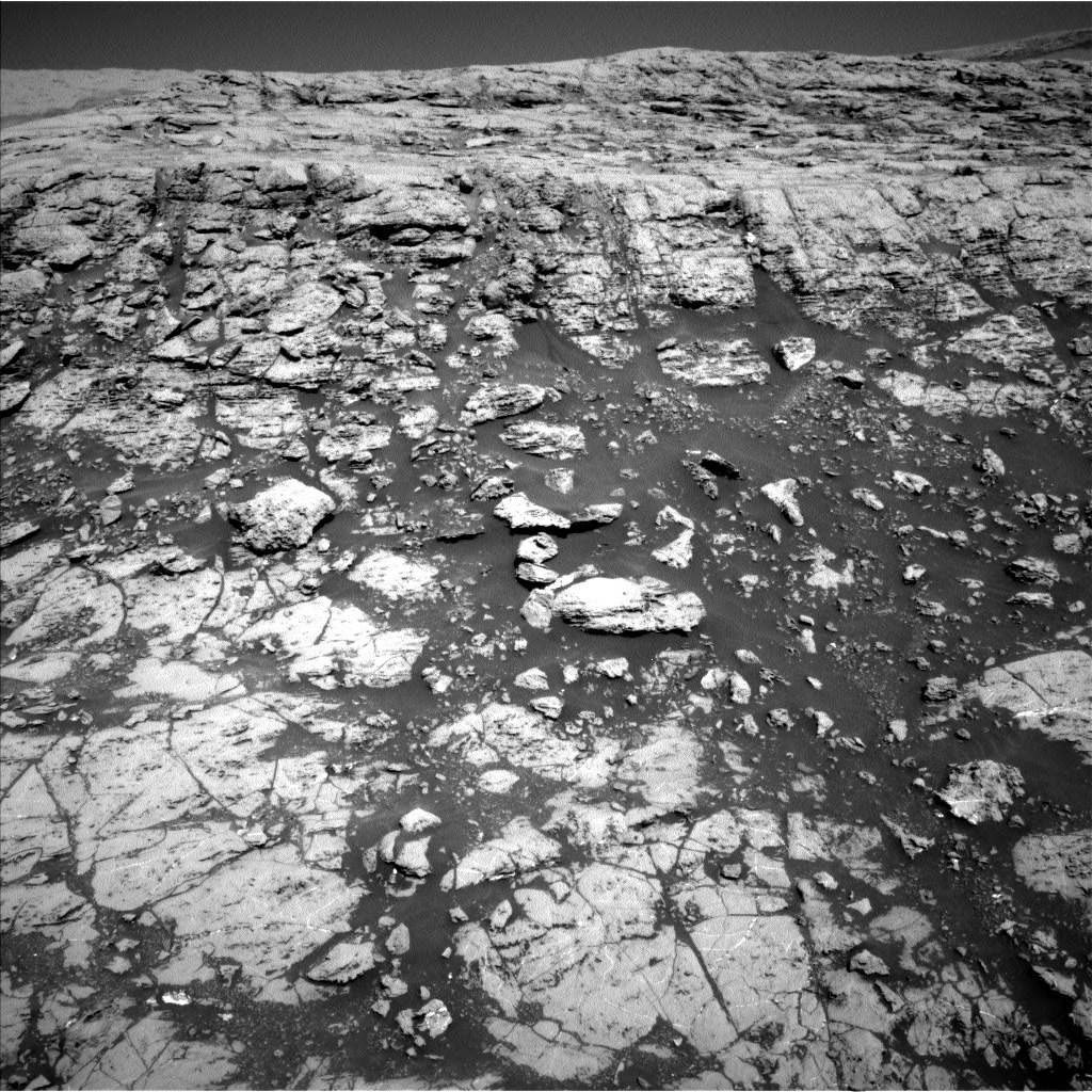 NASA's Mars rover Curiosity acquired this image using its Left Navigation Camera (Navcams) on Sol 1828