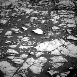 Nasa's Mars rover Curiosity acquired this image using its Right Navigation Camera on Sol 1828, at drive 510, site number 66