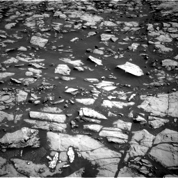 Nasa's Mars rover Curiosity acquired this image using its Right Navigation Camera on Sol 1828, at drive 516, site number 66