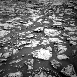 Nasa's Mars rover Curiosity acquired this image using its Right Navigation Camera on Sol 1828, at drive 546, site number 66