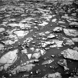 Nasa's Mars rover Curiosity acquired this image using its Right Navigation Camera on Sol 1828, at drive 552, site number 66