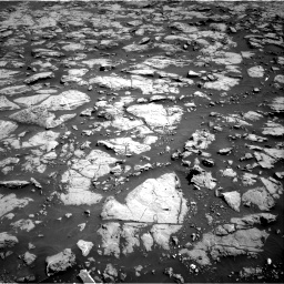 Nasa's Mars rover Curiosity acquired this image using its Right Navigation Camera on Sol 1828, at drive 558, site number 66