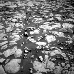 Nasa's Mars rover Curiosity acquired this image using its Right Navigation Camera on Sol 1828, at drive 588, site number 66