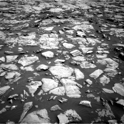 Nasa's Mars rover Curiosity acquired this image using its Right Navigation Camera on Sol 1828, at drive 600, site number 66