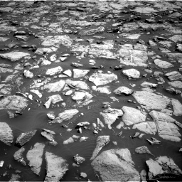 Nasa's Mars rover Curiosity acquired this image using its Right Navigation Camera on Sol 1828, at drive 612, site number 66