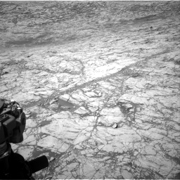 Nasa's Mars rover Curiosity acquired this image using its Right Navigation Camera on Sol 1828, at drive 642, site number 66