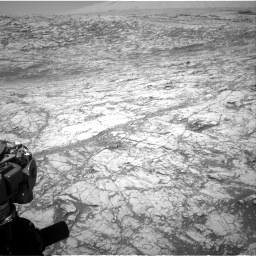 Nasa's Mars rover Curiosity acquired this image using its Right Navigation Camera on Sol 1828, at drive 654, site number 66