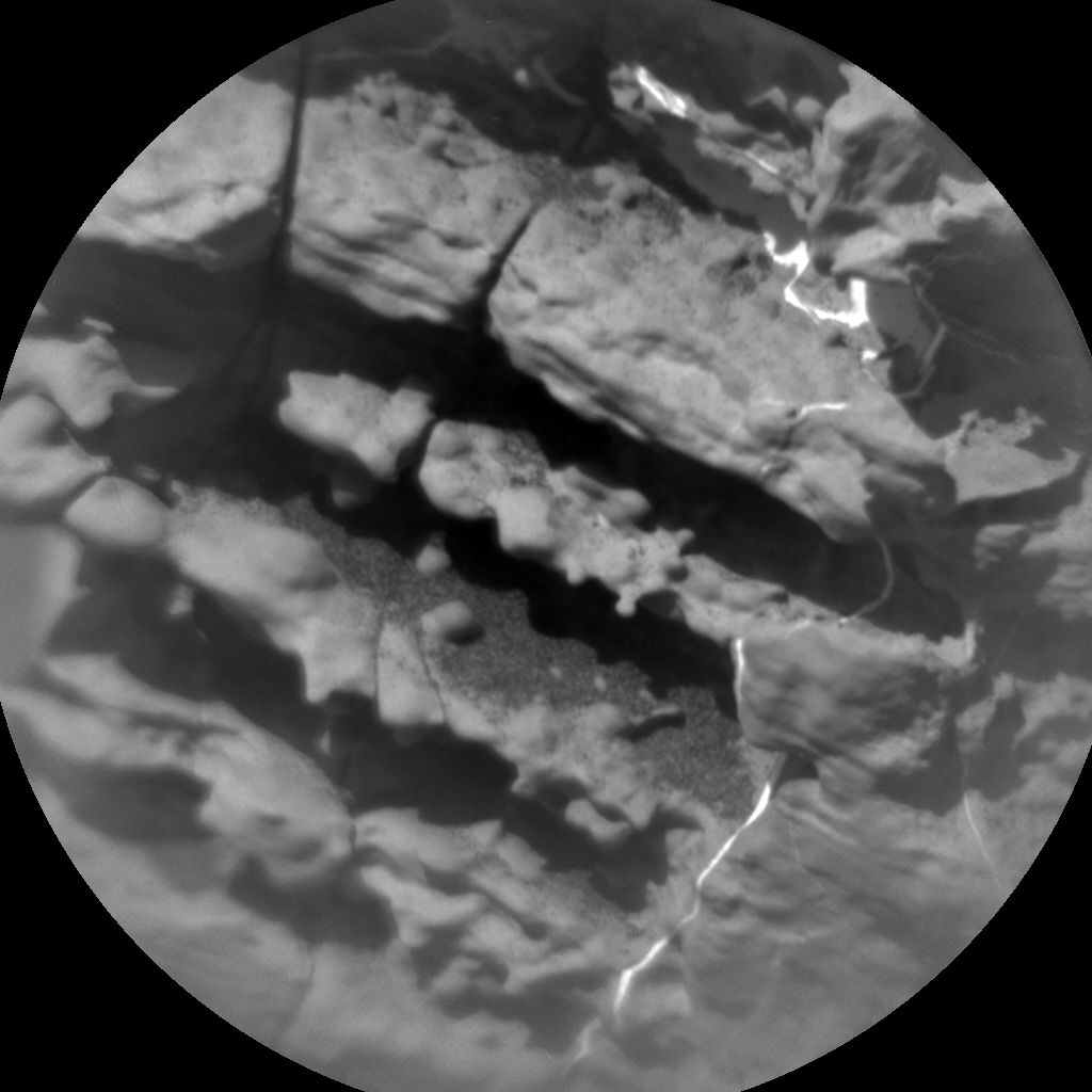 Nasa's Mars rover Curiosity acquired this image using its Chemistry & Camera (ChemCam) on Sol 1828, at drive 450, site number 66