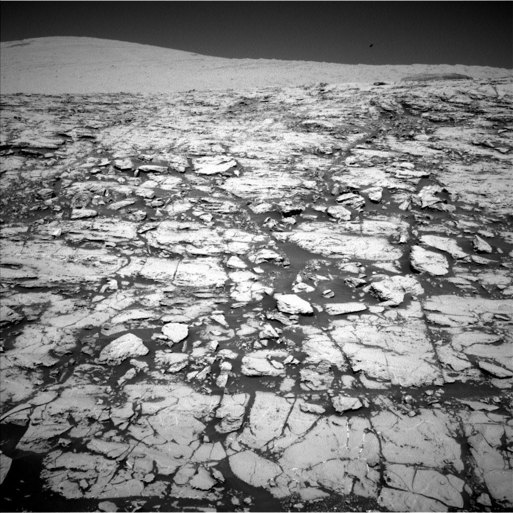 Nasa's Mars rover Curiosity acquired this image using its Left Navigation Camera on Sol 1829, at drive 856, site number 66