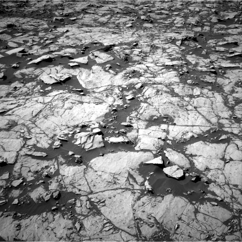 Nasa's Mars rover Curiosity acquired this image using its Right Navigation Camera on Sol 1829, at drive 816, site number 66