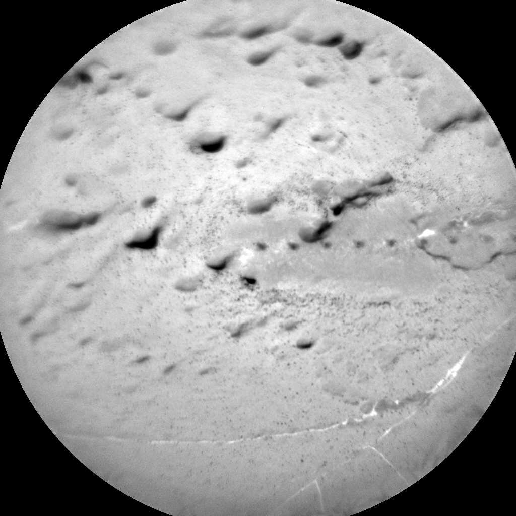 Nasa's Mars rover Curiosity acquired this image using its Chemistry & Camera (ChemCam) on Sol 1829, at drive 684, site number 66
