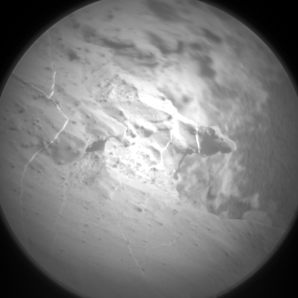 Nasa's Mars rover Curiosity acquired this image using its Chemistry & Camera (ChemCam) on Sol 1830, at drive 952, site number 66