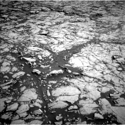 Nasa's Mars rover Curiosity acquired this image using its Left Navigation Camera on Sol 1830, at drive 880, site number 66