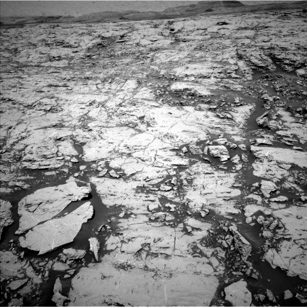 Nasa's Mars rover Curiosity acquired this image using its Left Navigation Camera on Sol 1830, at drive 910, site number 66