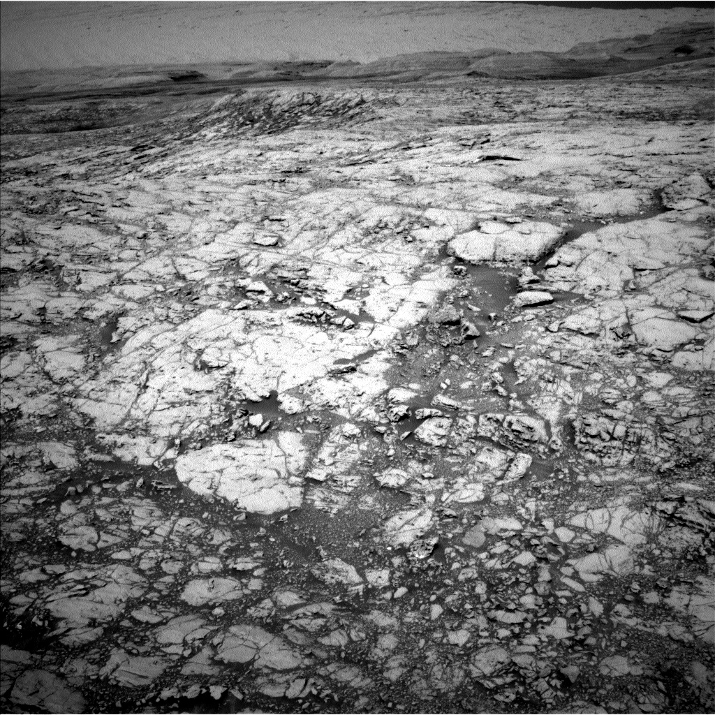 Nasa's Mars rover Curiosity acquired this image using its Left Navigation Camera on Sol 1830, at drive 952, site number 66