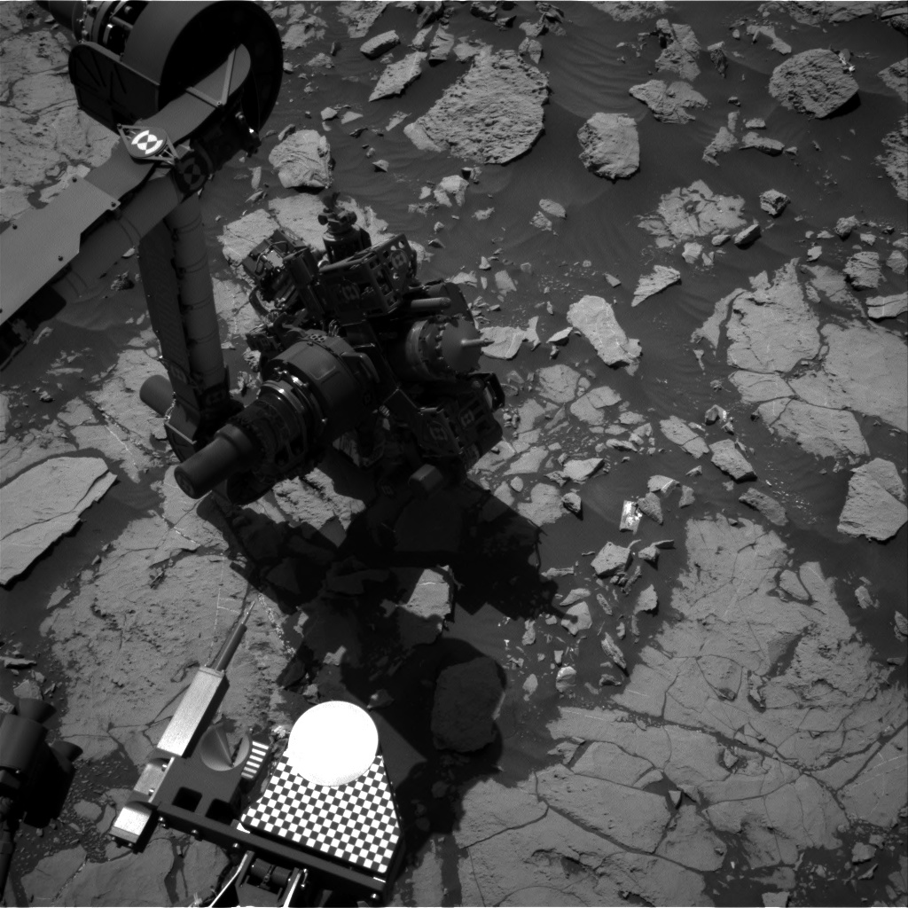 Nasa's Mars rover Curiosity acquired this image using its Right Navigation Camera on Sol 1830, at drive 856, site number 66