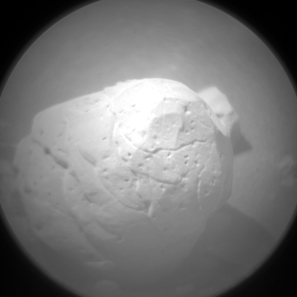 Nasa's Mars rover Curiosity acquired this image using its Chemistry & Camera (ChemCam) on Sol 1831, at drive 952, site number 66