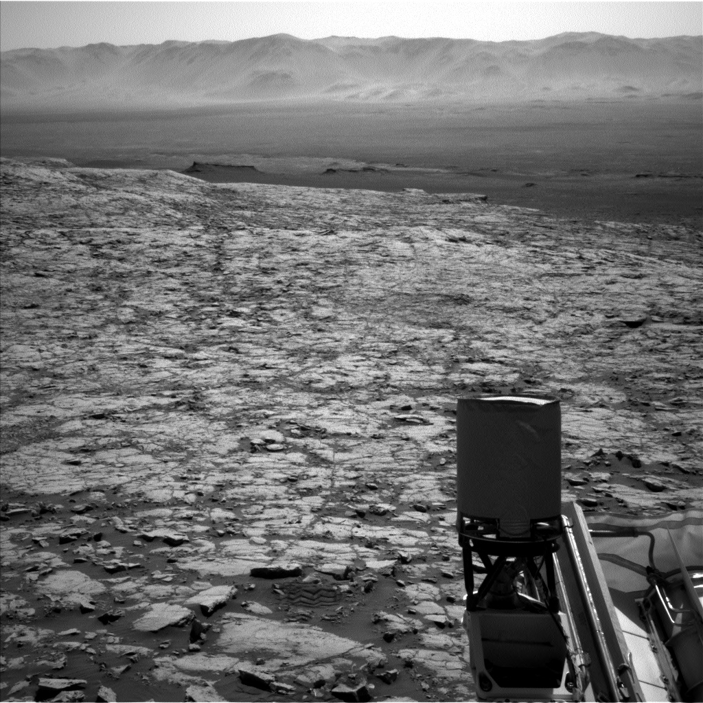 Nasa's Mars rover Curiosity acquired this image using its Left Navigation Camera on Sol 1833, at drive 952, site number 66