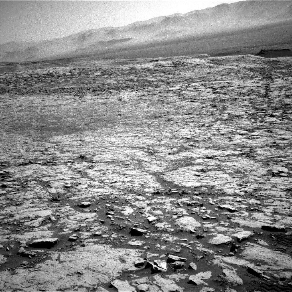 Nasa's Mars rover Curiosity acquired this image using its Right Navigation Camera on Sol 1833, at drive 952, site number 66