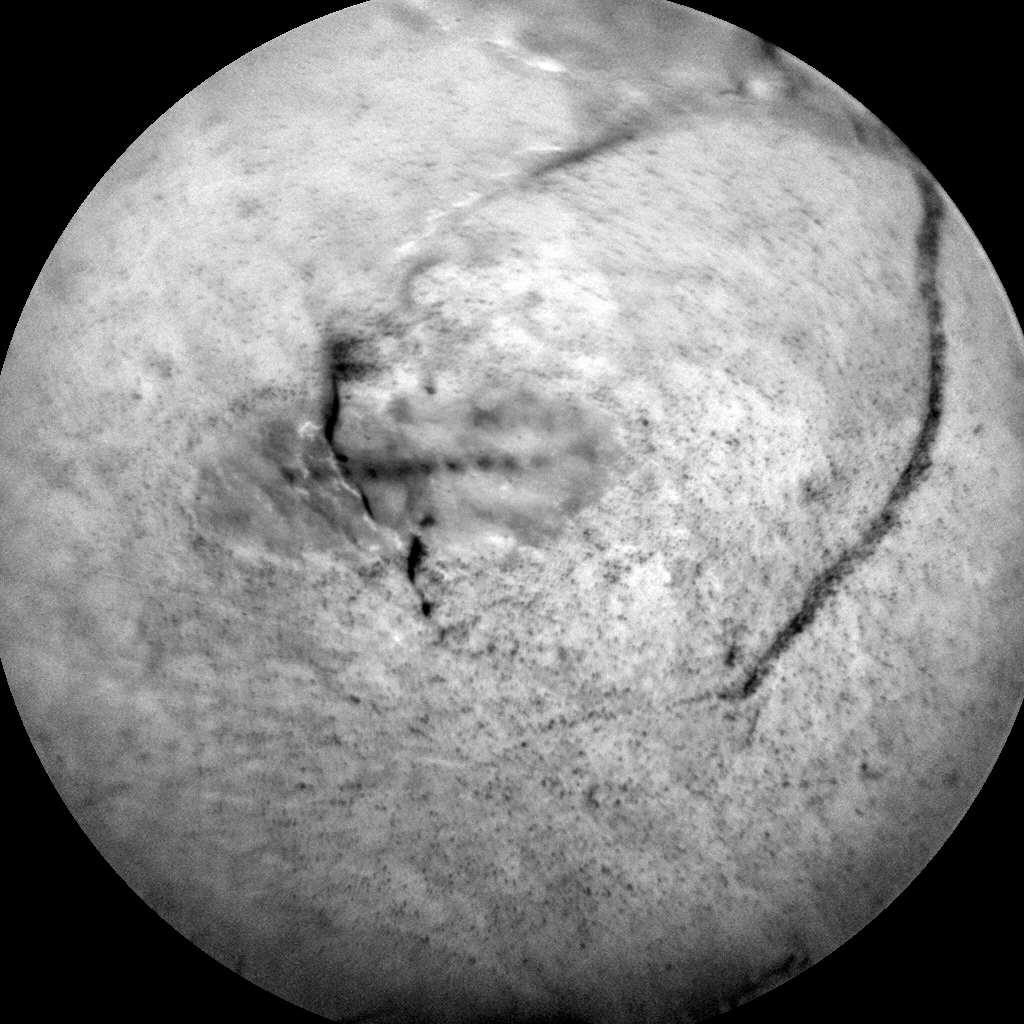 Nasa's Mars rover Curiosity acquired this image using its Chemistry & Camera (ChemCam) on Sol 1833, at drive 952, site number 66