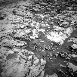 NASA's Mars rover Curiosity acquired this image using its Left Navigation Camera (Navcams) on Sol 1834