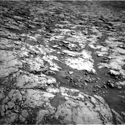 Nasa's Mars rover Curiosity acquired this image using its Left Navigation Camera on Sol 1834, at drive 982, site number 66