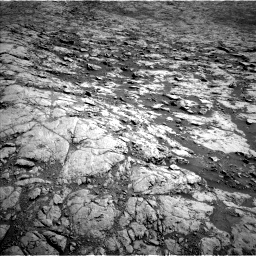 Nasa's Mars rover Curiosity acquired this image using its Left Navigation Camera on Sol 1834, at drive 988, site number 66