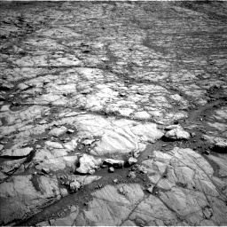 Nasa's Mars rover Curiosity acquired this image using its Left Navigation Camera on Sol 1834, at drive 1060, site number 66