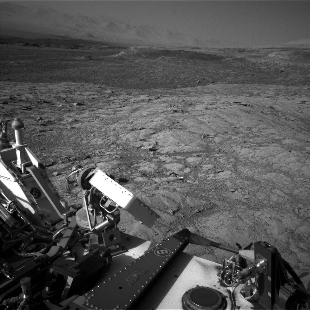 Nasa's Mars rover Curiosity acquired this image using its Left Navigation Camera on Sol 1834, at drive 1112, site number 66