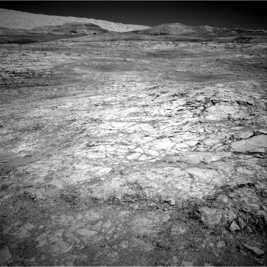 NASA's Mars rover Curiosity acquired this image using its Right Navigation Cameras (Navcams) on Sol 1834