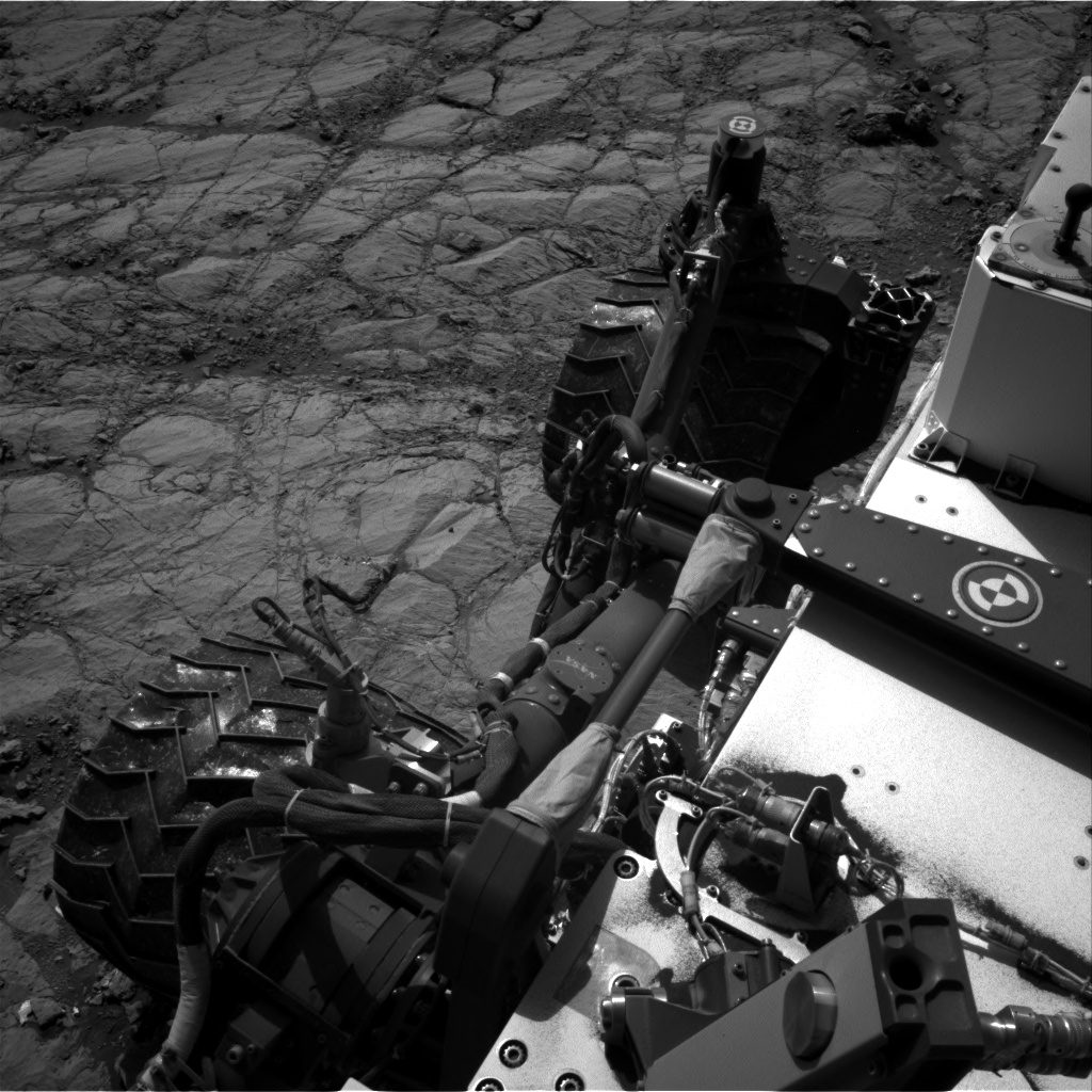 Nasa's Mars rover Curiosity acquired this image using its Right Navigation Camera on Sol 1834, at drive 1112, site number 66
