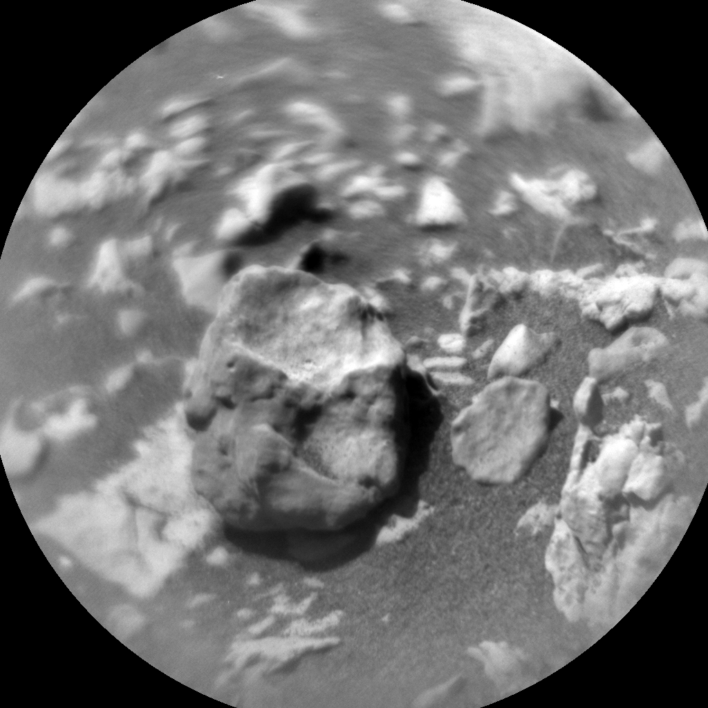 Nasa's Mars rover Curiosity acquired this image using its Chemistry & Camera (ChemCam) on Sol 1834, at drive 952, site number 66