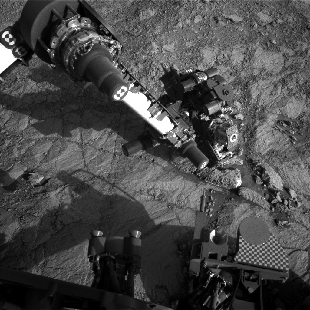 Nasa's Mars rover Curiosity acquired this image using its Left Navigation Camera on Sol 1836, at drive 1112, site number 66
