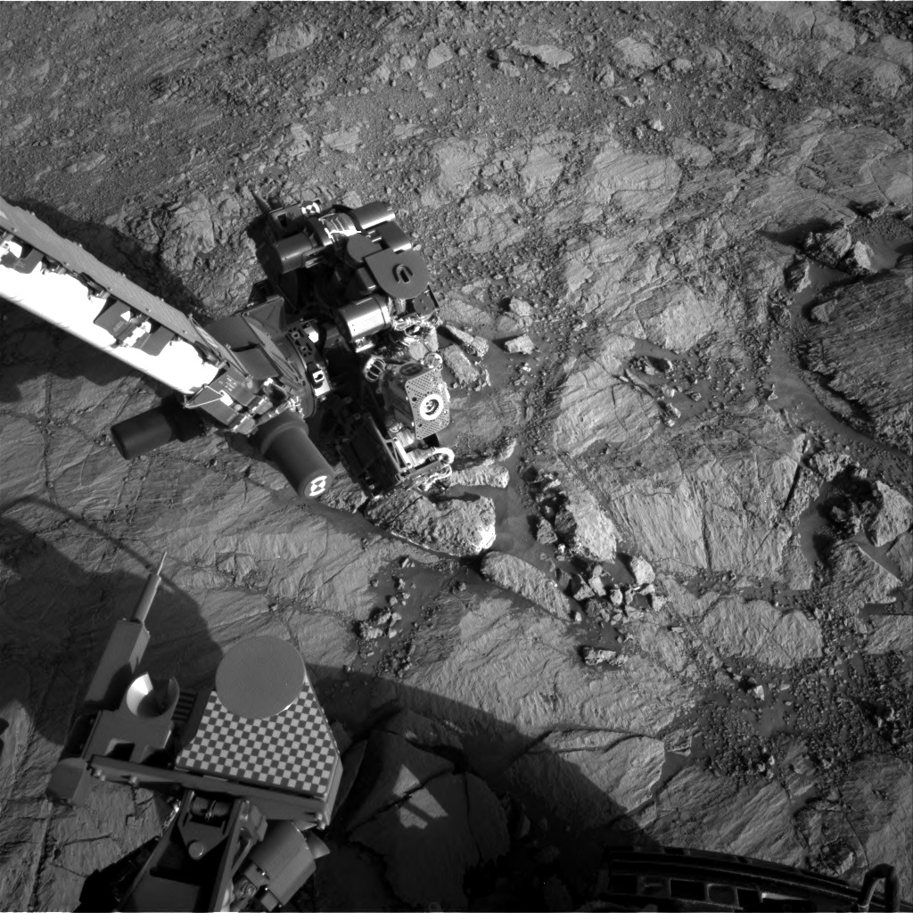 Nasa's Mars rover Curiosity acquired this image using its Right Navigation Camera on Sol 1836, at drive 1112, site number 66