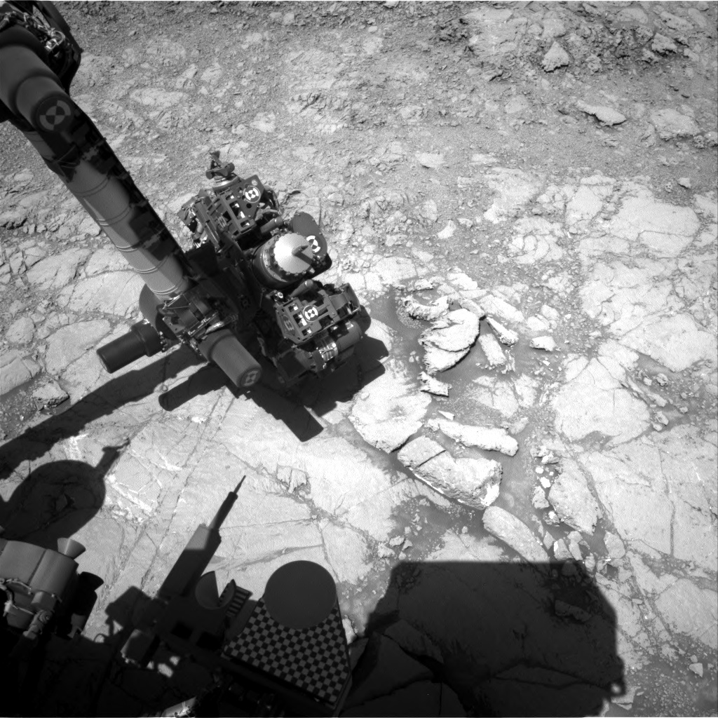 Nasa's Mars rover Curiosity acquired this image using its Right Navigation Camera on Sol 1837, at drive 1112, site number 66