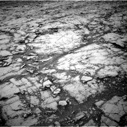 Nasa's Mars rover Curiosity acquired this image using its Right Navigation Camera on Sol 1837, at drive 1304, site number 66