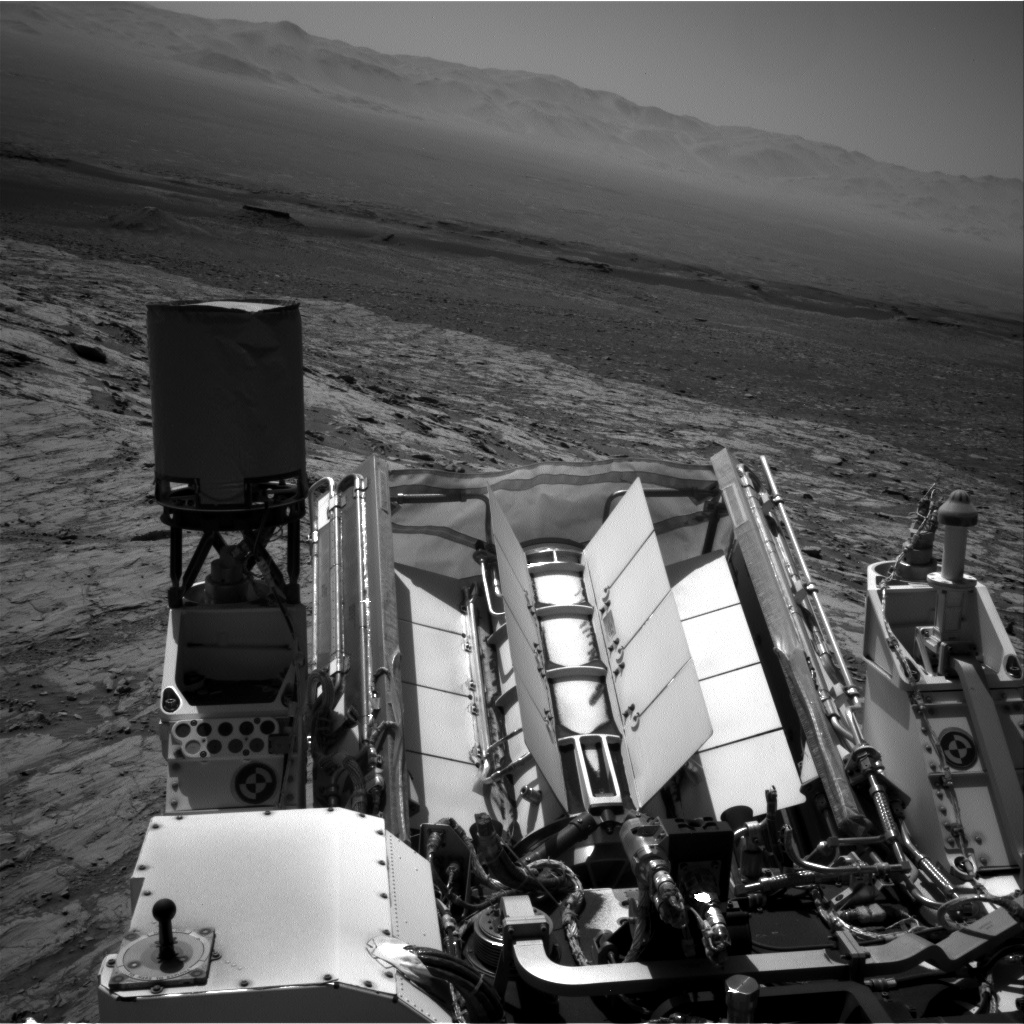 Nasa's Mars rover Curiosity acquired this image using its Right Navigation Camera on Sol 1837, at drive 1332, site number 66