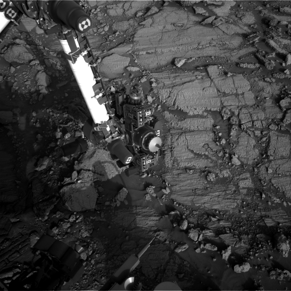Nasa's Mars rover Curiosity acquired this image using its Right Navigation Camera on Sol 1838, at drive 1332, site number 66