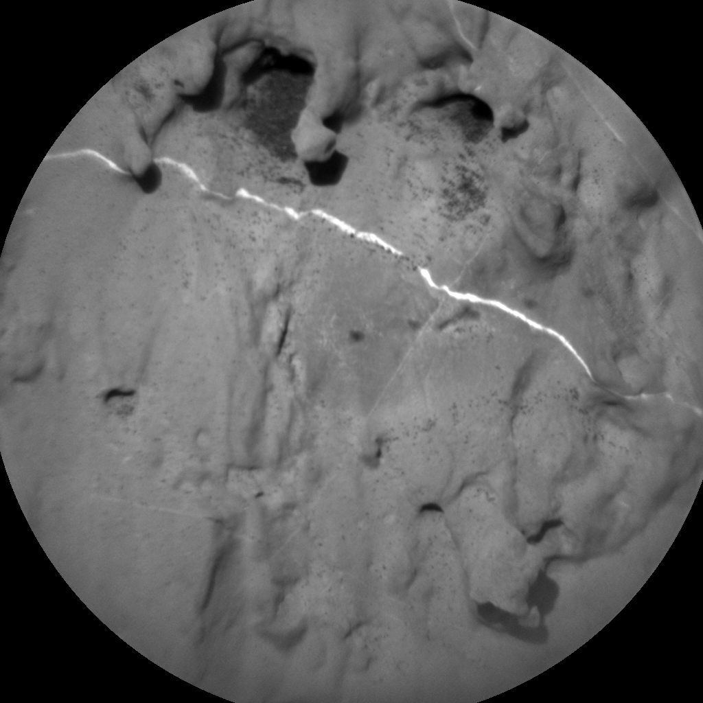 Nasa's Mars rover Curiosity acquired this image using its Chemistry & Camera (ChemCam) on Sol 1838, at drive 1332, site number 66