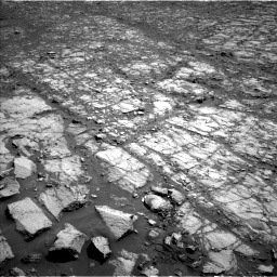 Nasa's Mars rover Curiosity acquired this image using its Left Navigation Camera on Sol 1843, at drive 1332, site number 66