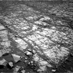 Nasa's Mars rover Curiosity acquired this image using its Right Navigation Camera on Sol 1843, at drive 1332, site number 66