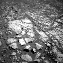 Nasa's Mars rover Curiosity acquired this image using its Right Navigation Camera on Sol 1843, at drive 1338, site number 66
