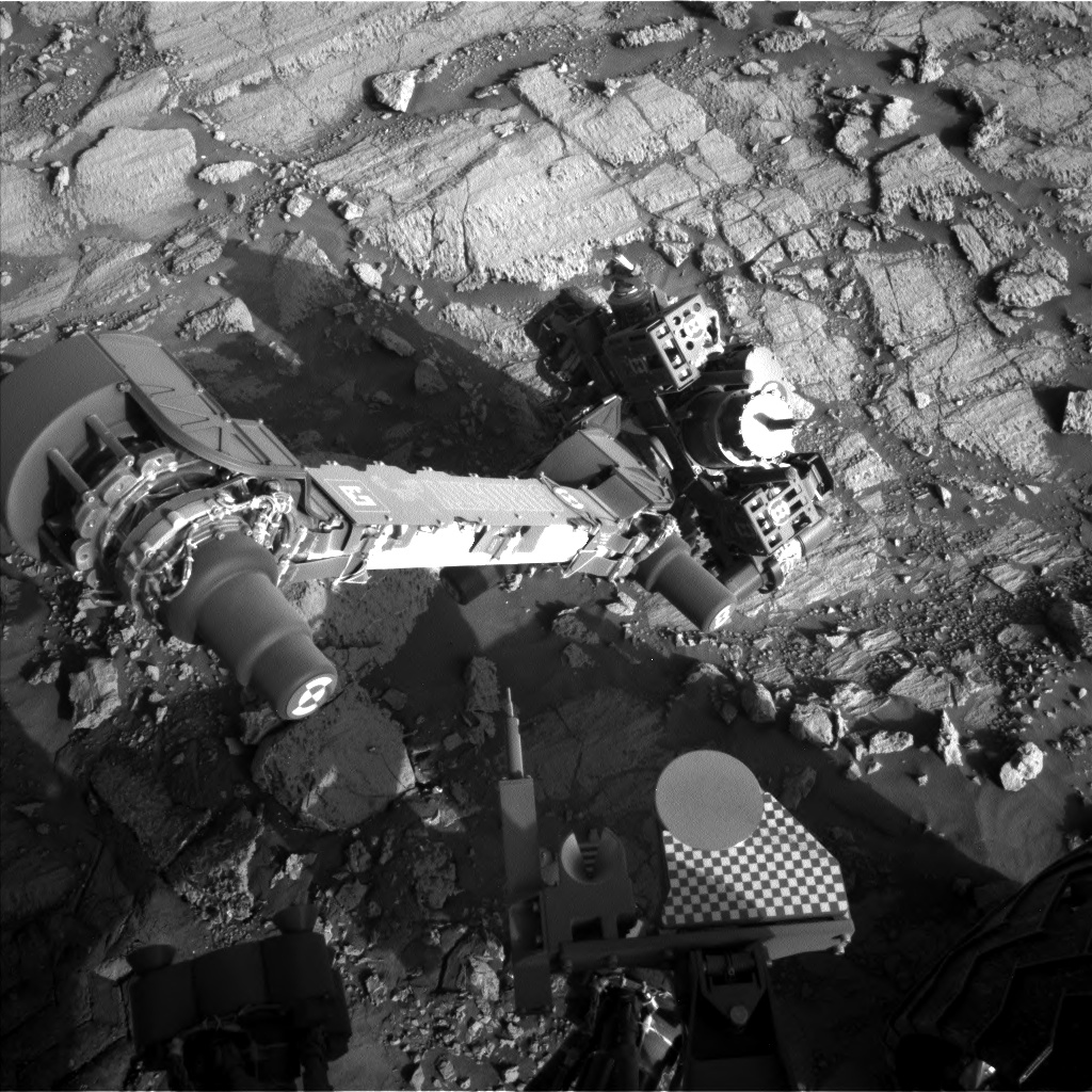 Nasa's Mars rover Curiosity acquired this image using its Left Navigation Camera on Sol 1845, at drive 1342, site number 66