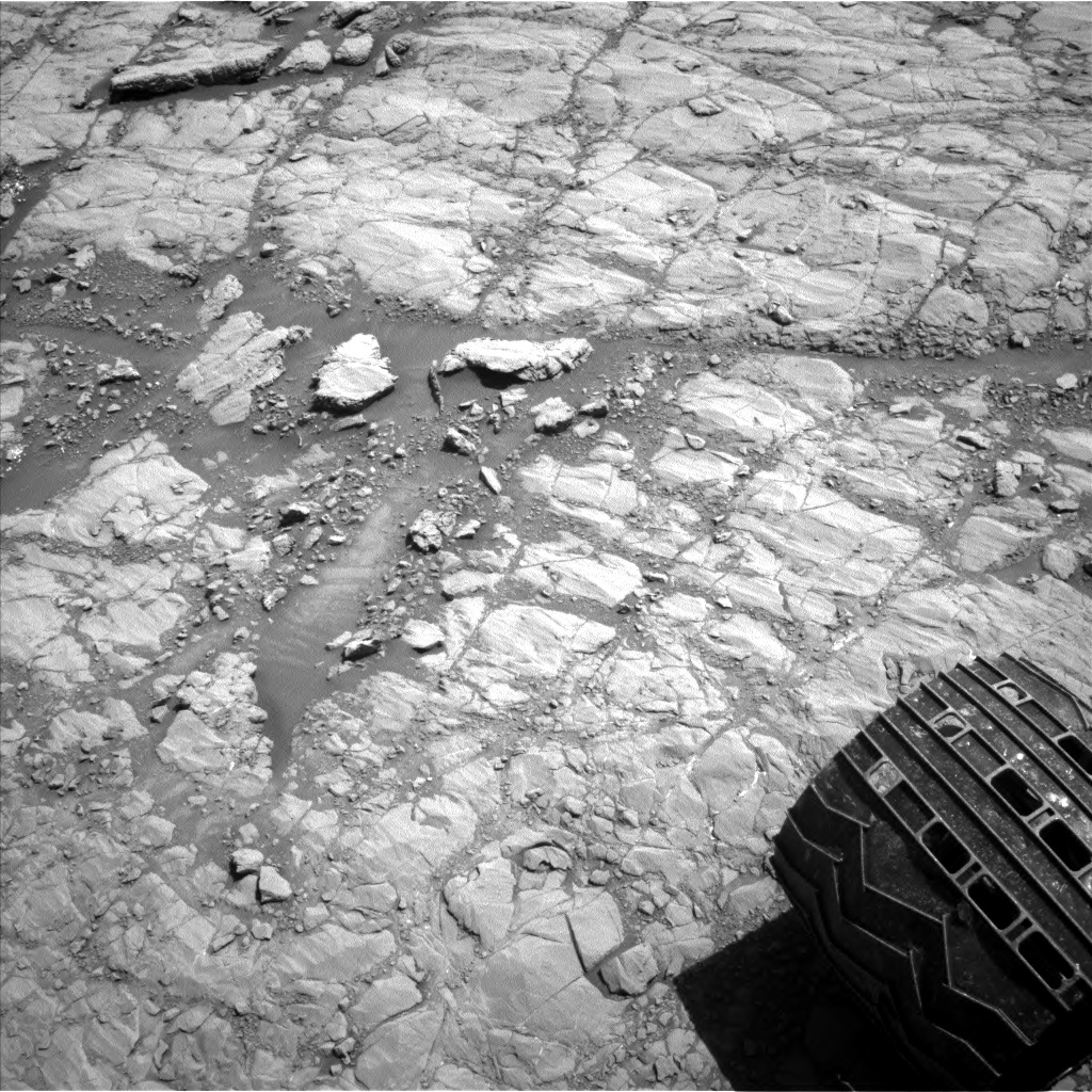 Nasa's Mars rover Curiosity acquired this image using its Left Navigation Camera on Sol 1846, at drive 1516, site number 66