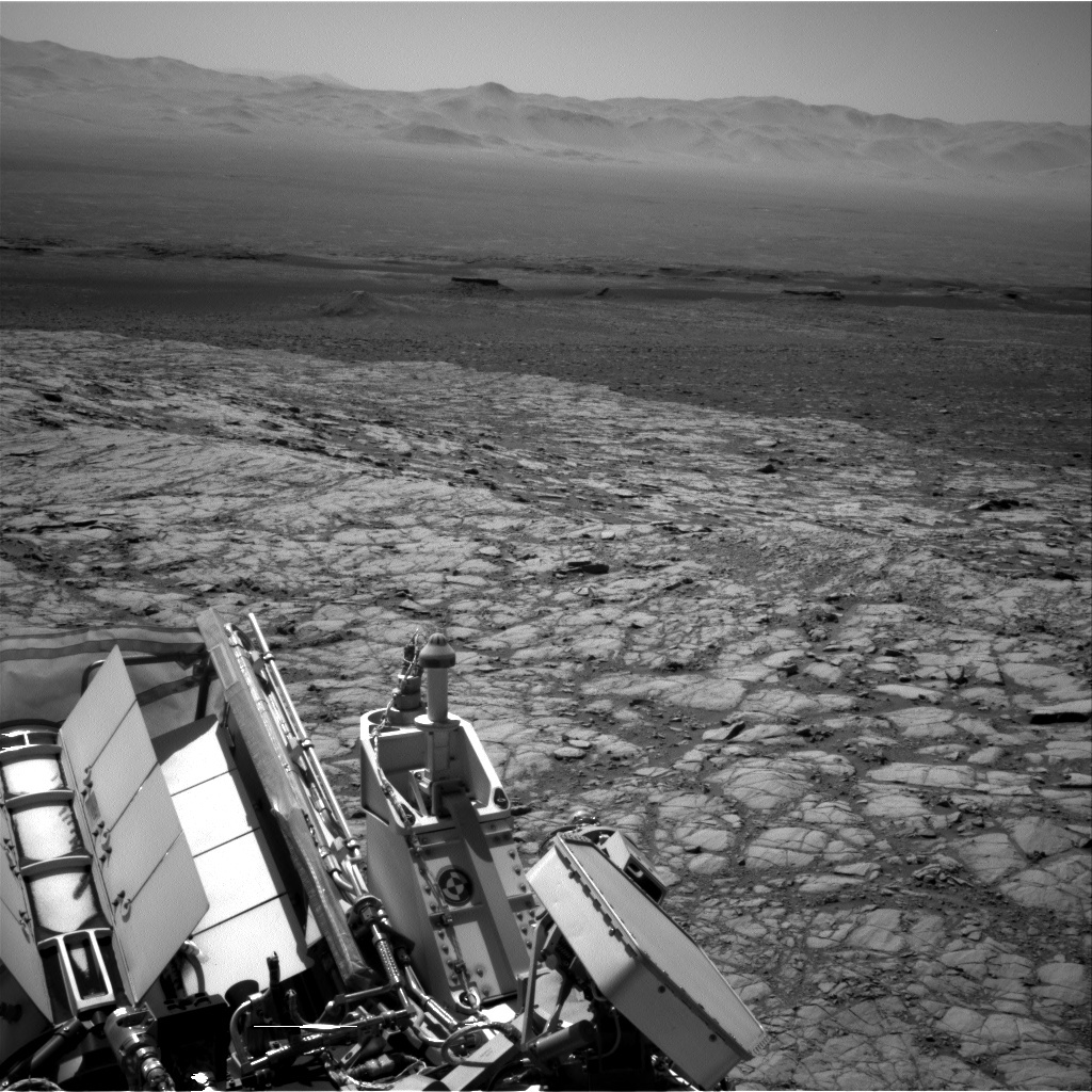 NASA's Mars rover Curiosity acquired this image using its Right Navigation Cameras (Navcams) on Sol 1846