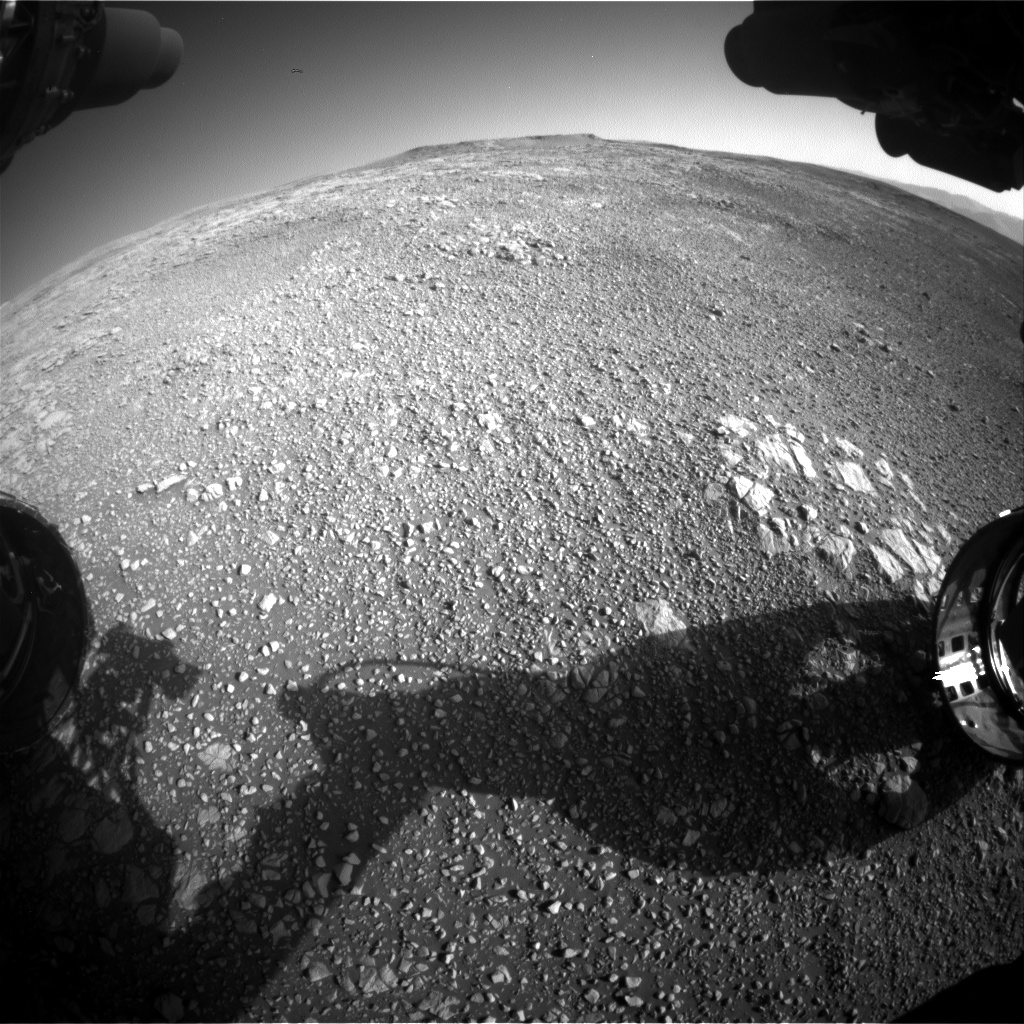 Nasa's Mars rover Curiosity acquired this image using its Front Hazard Avoidance Camera (Front Hazcam) on Sol 1848, at drive 1654, site number 66